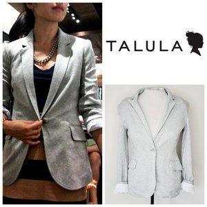 ARITZIA TALULA Pima Cotton Grey Blazer